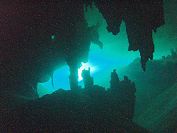 Cavern dive